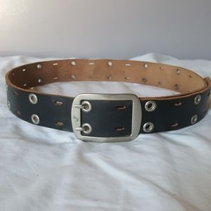 Womens double grommet belt - Large